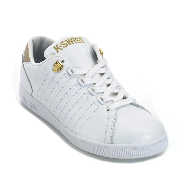 K-swiss Womens Lozan III TT Metallic Trainers White