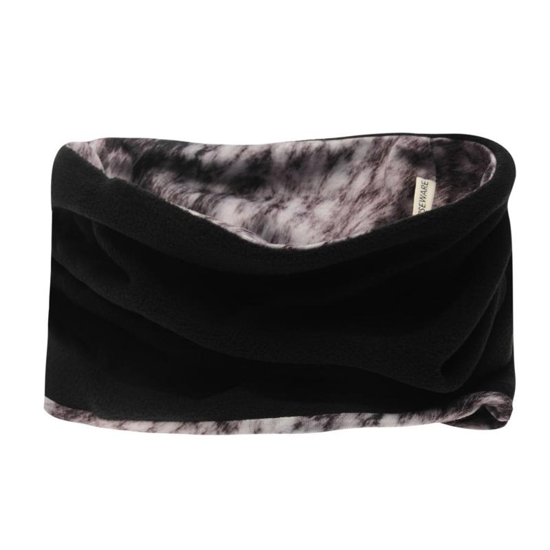 Horseware Reversible Snood Ladies Grey Print