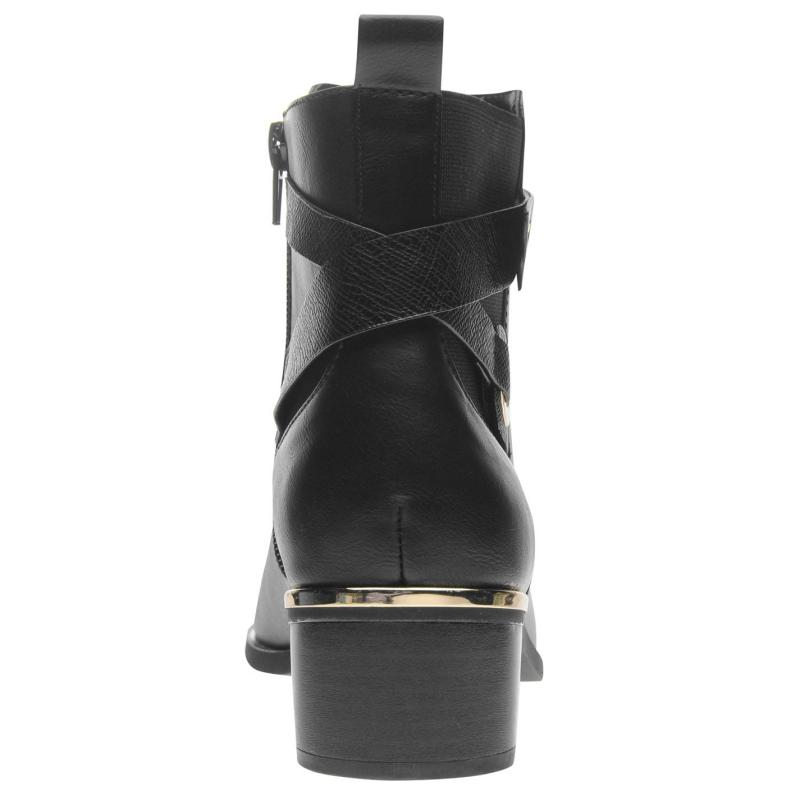 Miso Hale Ladies Chelsea Boots Black