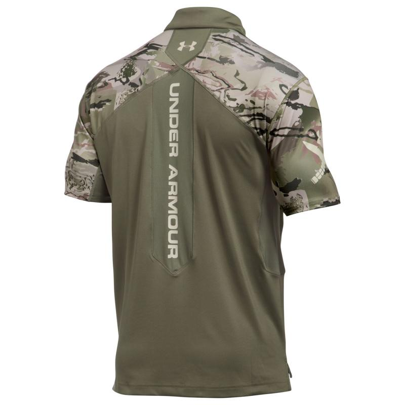 Under Armour Tactical Sub Range Polo Shirt Mens Green