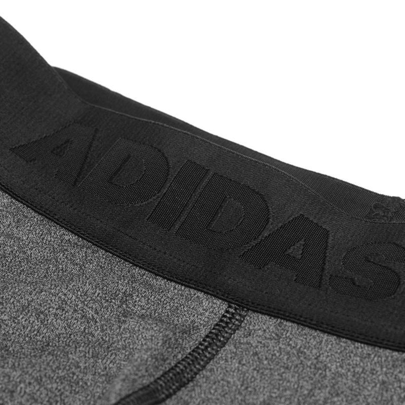 Adidas Womens Alphaskin Leggings Compression Dark Grey Heath