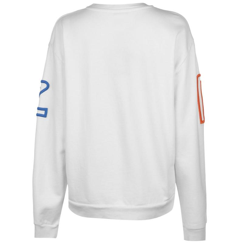 Mikina Pepe Jeans Colette Sweater White