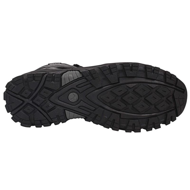 Boty Gelert Tryfan Mid Waterproof Mens Walking Boots Black/Charcoal