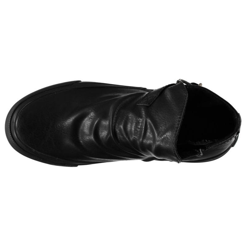 Blowfish Macho Ankle Boots Whiskey PU
