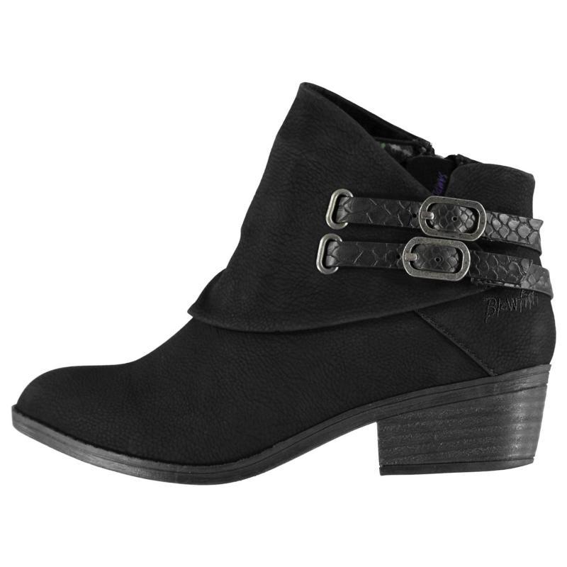 Blowfish Sistee Boots Black Sddlrck