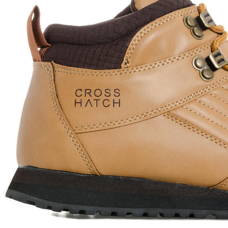 Boty Crosshatch Mens Vassos Boot Wheat
