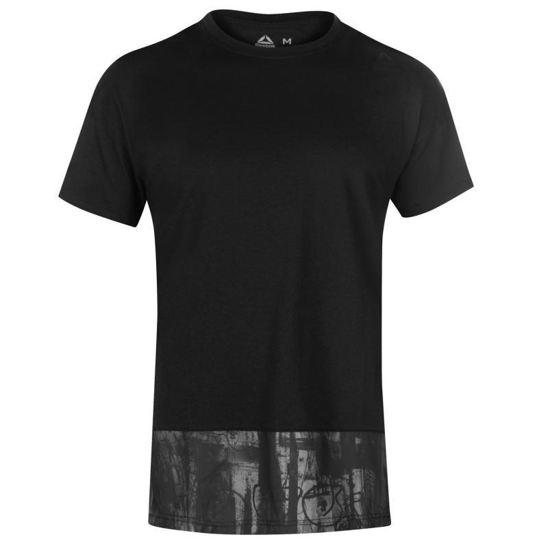 Reebok EE Trend T Shirt Mens Black