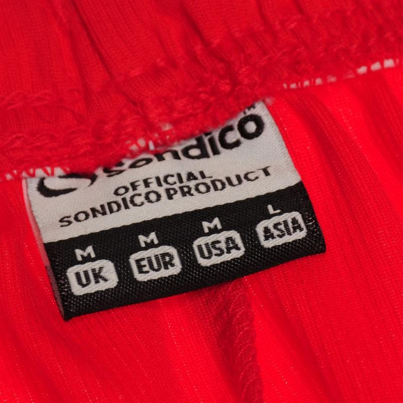 Sondico Core Football Shorts Mens Red