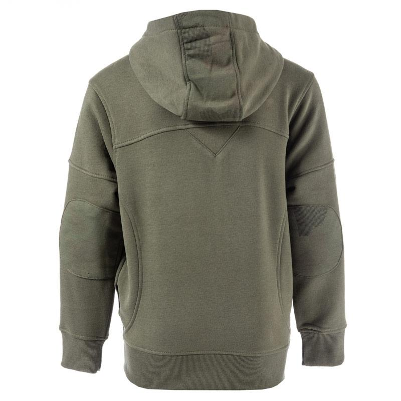 Ripstop Infant Boys Karmel Zip Hoody olive