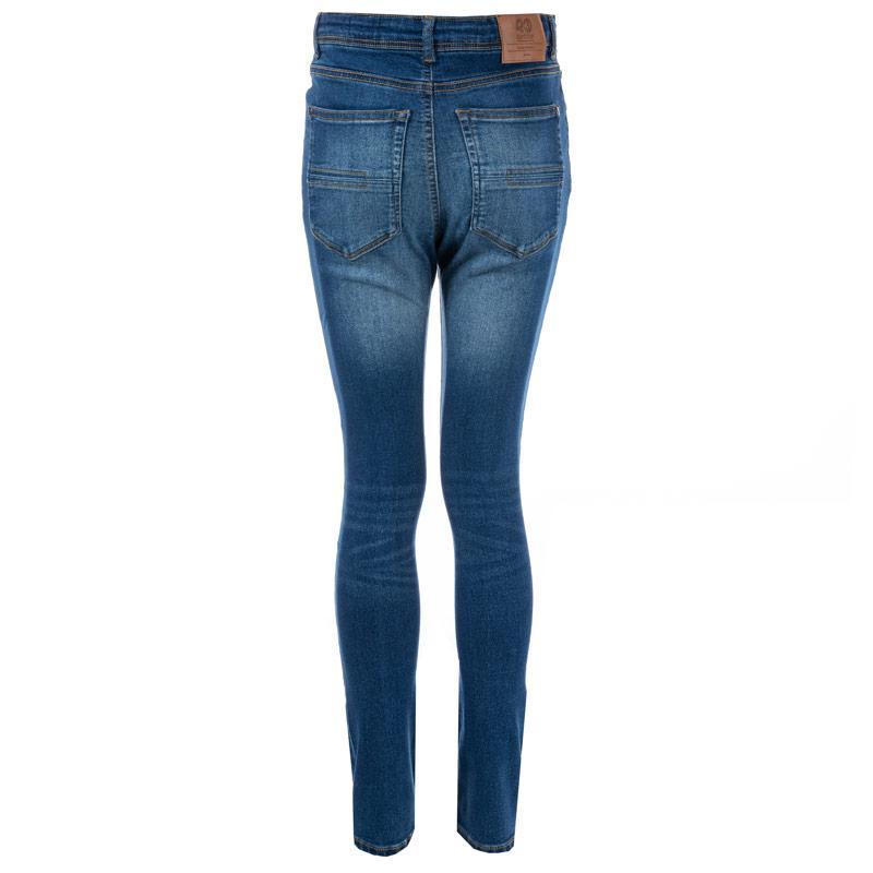 Kalhoty Ripstop Junior Boys Coyle Slim Fit Jeans Denim