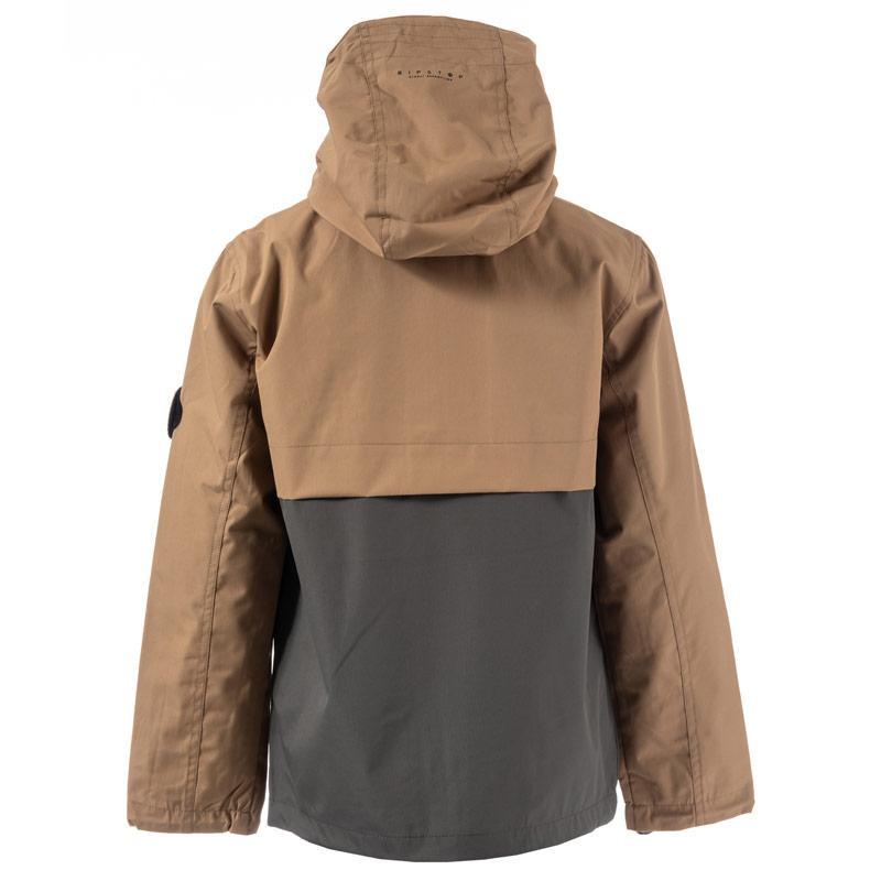 Bunda Ripstop Junior Boys Laygos Waterproof Jacket Mustard