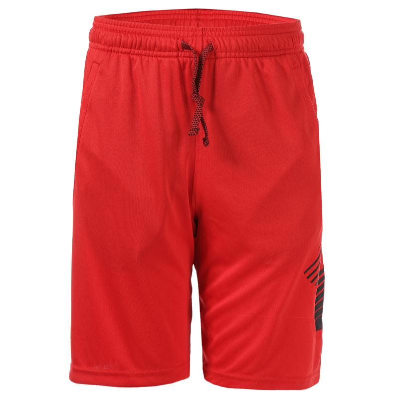 Kraťasy Under Armour Junior Boys Renegade Solid Shorts Red