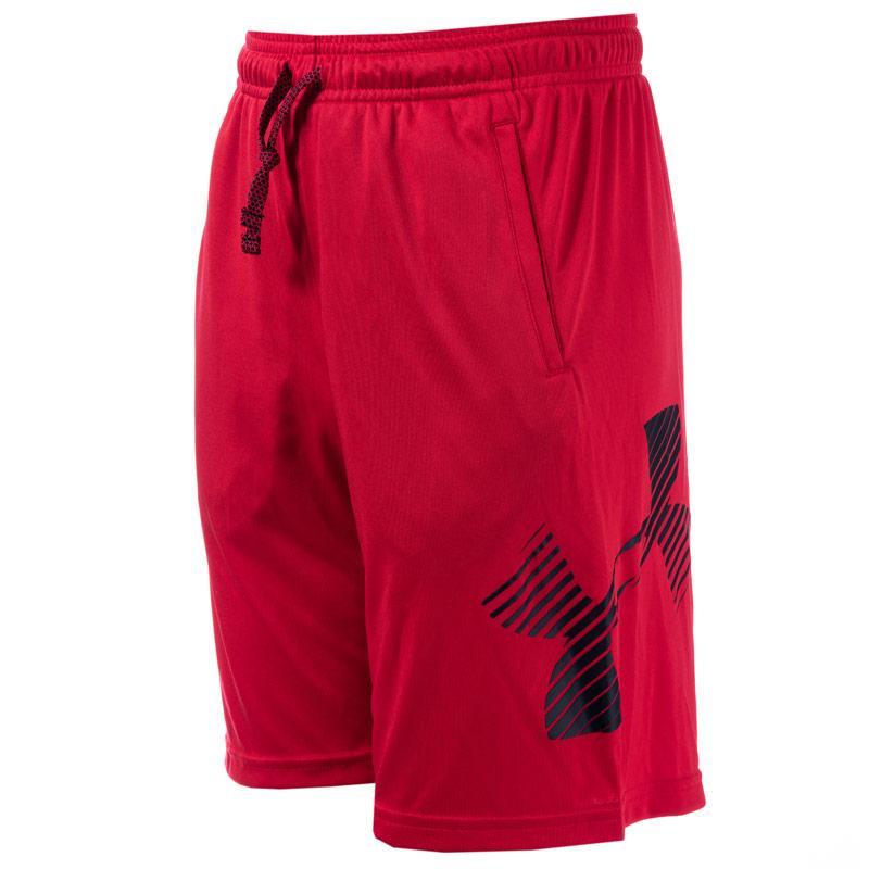 Kraťasy Under Armour Junior Boys Renegade Solid Shorts Red