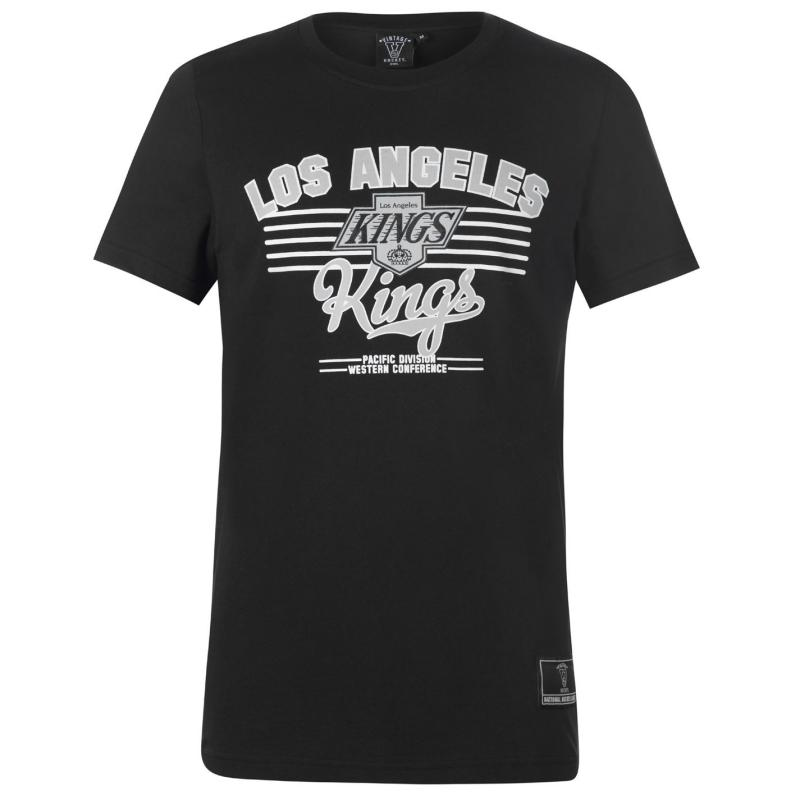 Tričko NHL Logo T Shirt Mens LA Kings