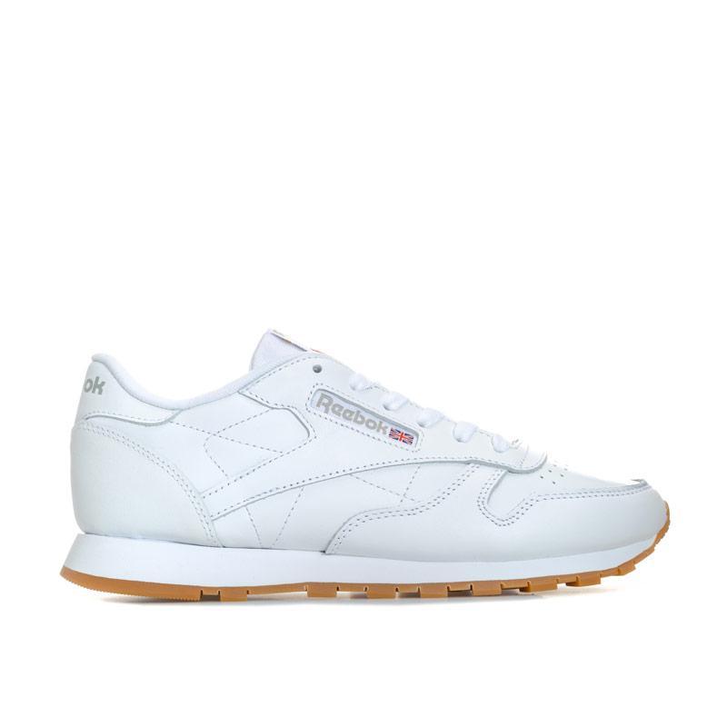 Reebok Classics Womens Classic Leather Trainers White