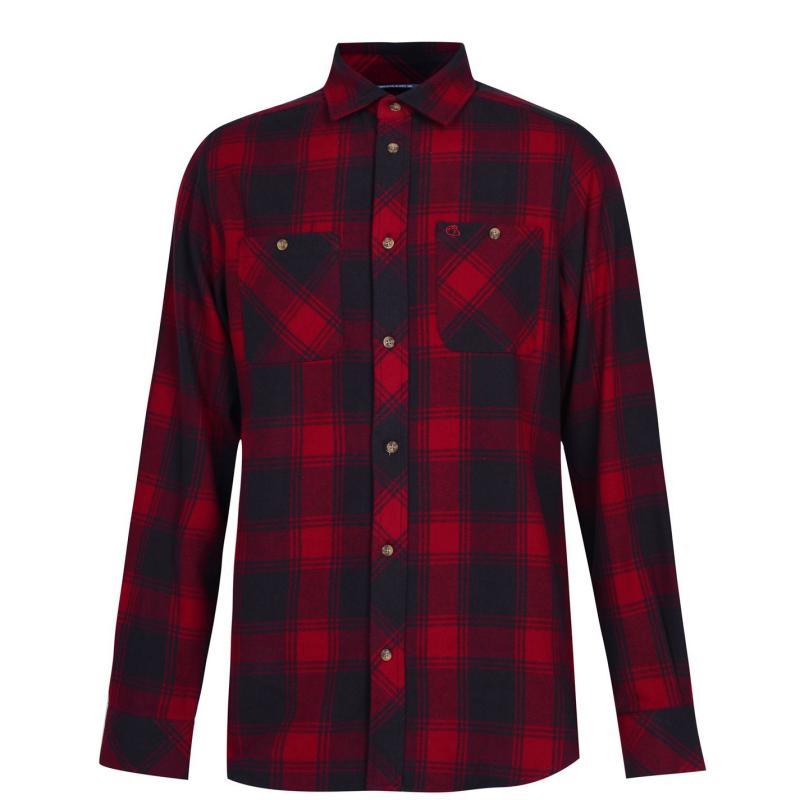 Craghoppers Machrie Shirt Mens Firth Red