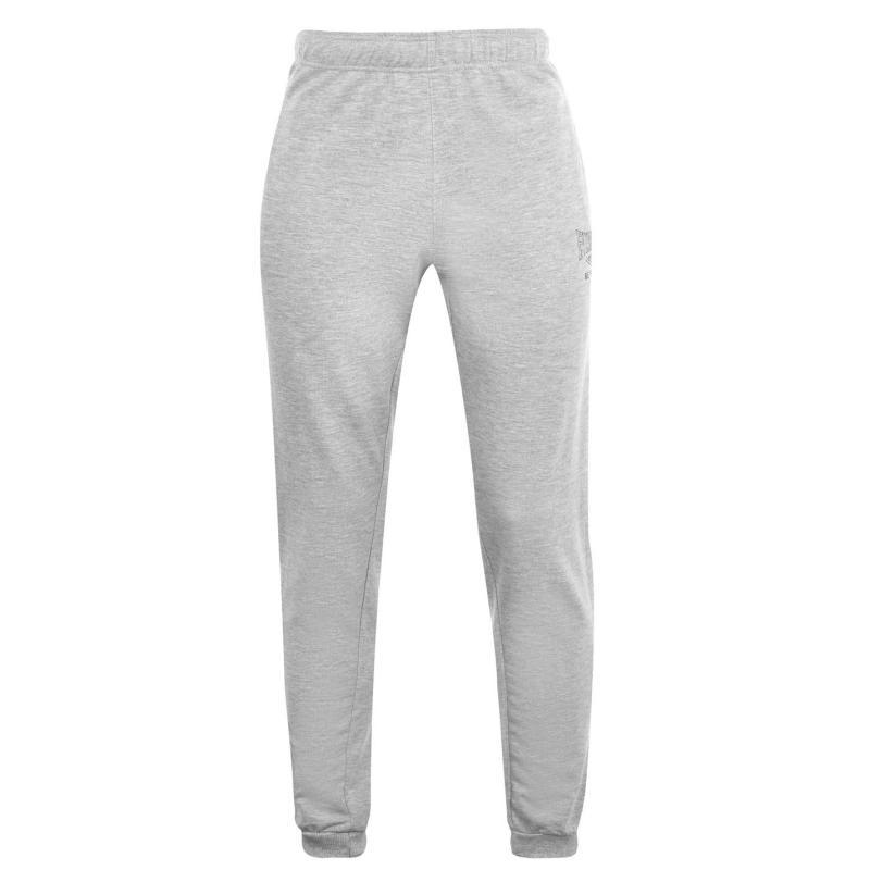 Tepláky Everlast Cuff Jogging Pants Mens Grey Marl