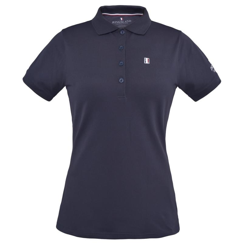 Polokošile Kingsland Ladies Classic Pique Polo Navy