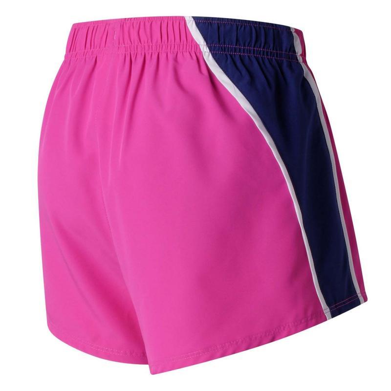 New Balance 3 Woven Shorts Ladies Azalea 956