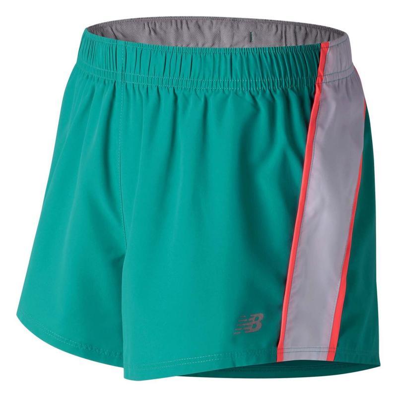 New Balance 3 Woven Shorts Ladies Galapagos 368