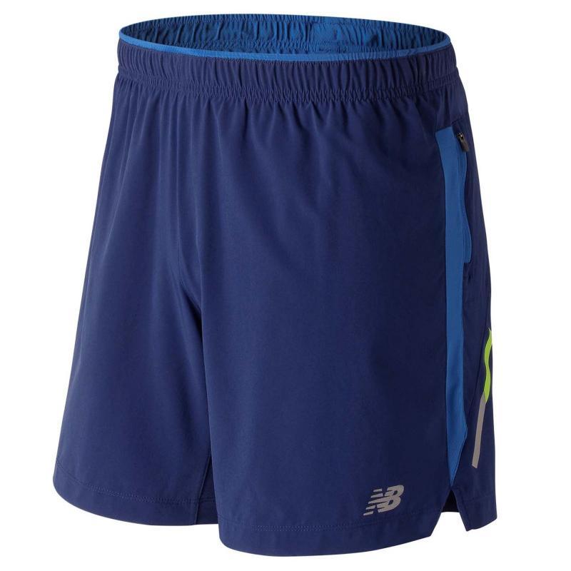 New Balance Impact 7inch Shorts Mens Tech Blue