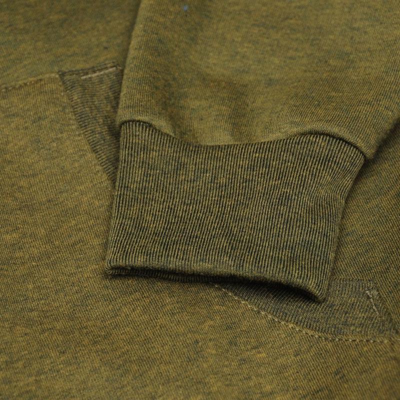 Mikina Slazenger Full Zip Hoody Mens Khaki Marl