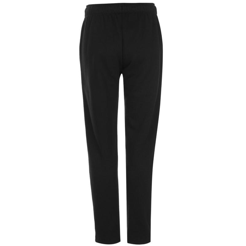 Sportovní kalhoty Lonsdale Slim Open Hem Joggers Ladies Black