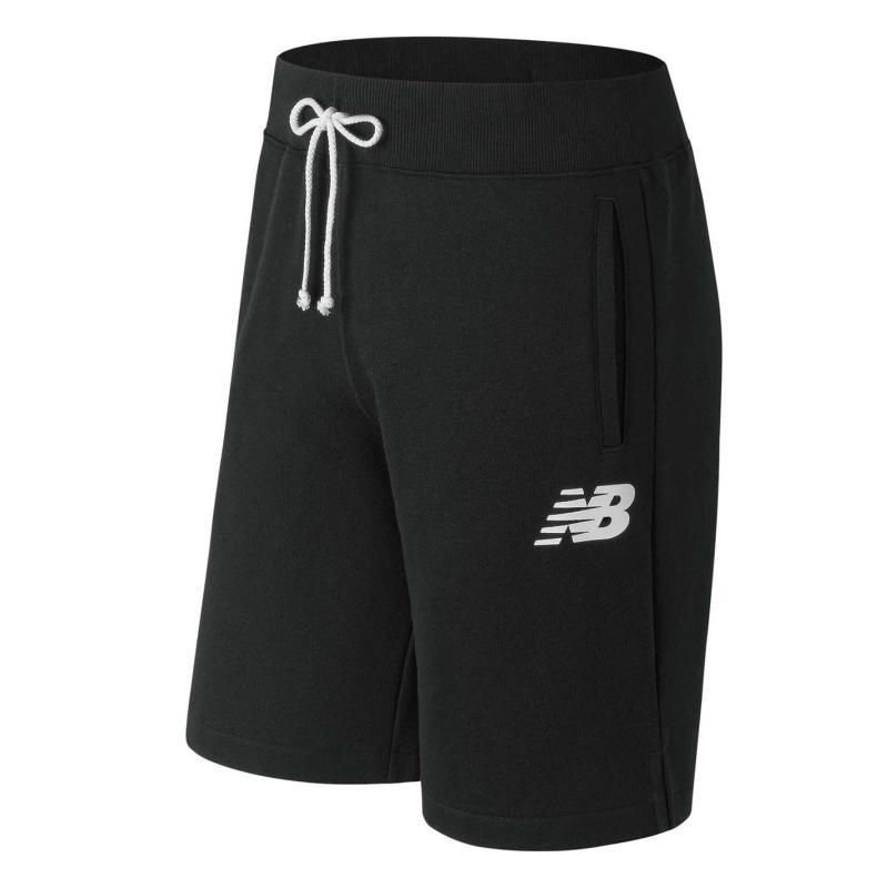 New Balance Fleece Shorts Mens Black