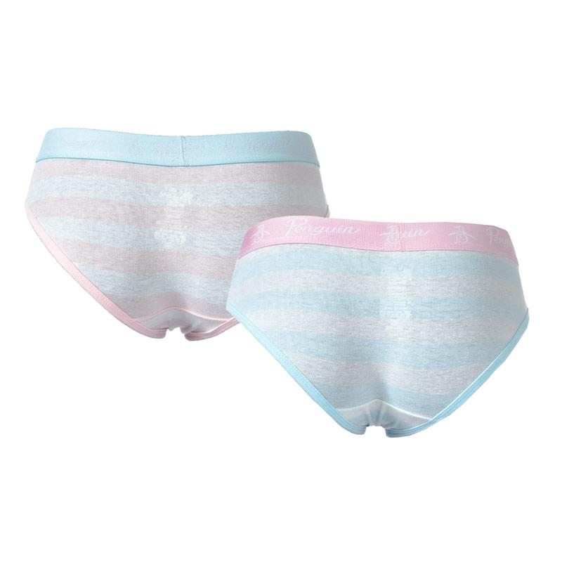 Spodní prádlo Original Penguin Womens 2 Pack Hipster Briefs Navy Pink