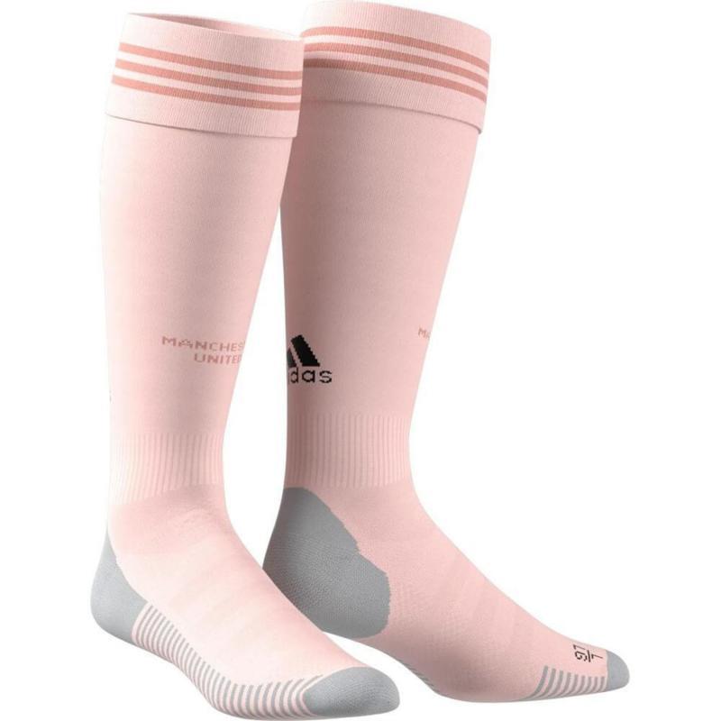 Adidas Manchester United Away Socks 2018 2019 Pink/Black