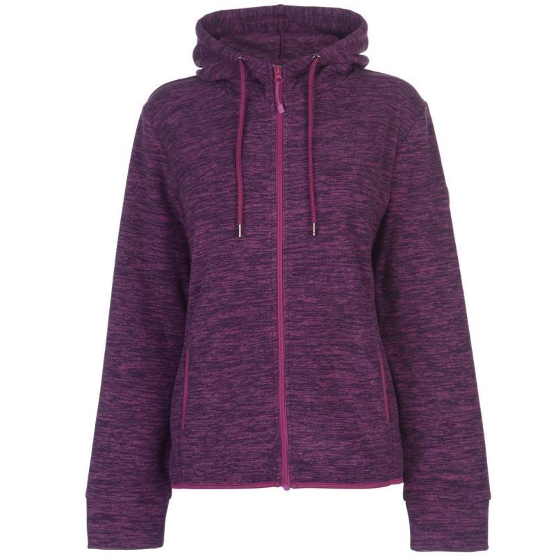 Gelert Two Tone Fleece Top Ladies Purple
