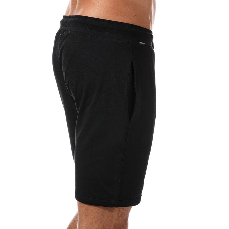Gym King Mens Jersey Shorts Black Gold