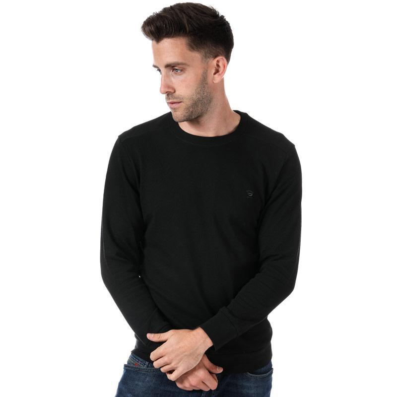 Mikina Diesel Mens S-Dant New Logo Sweat-Shirt Light Grey Velikost - XL