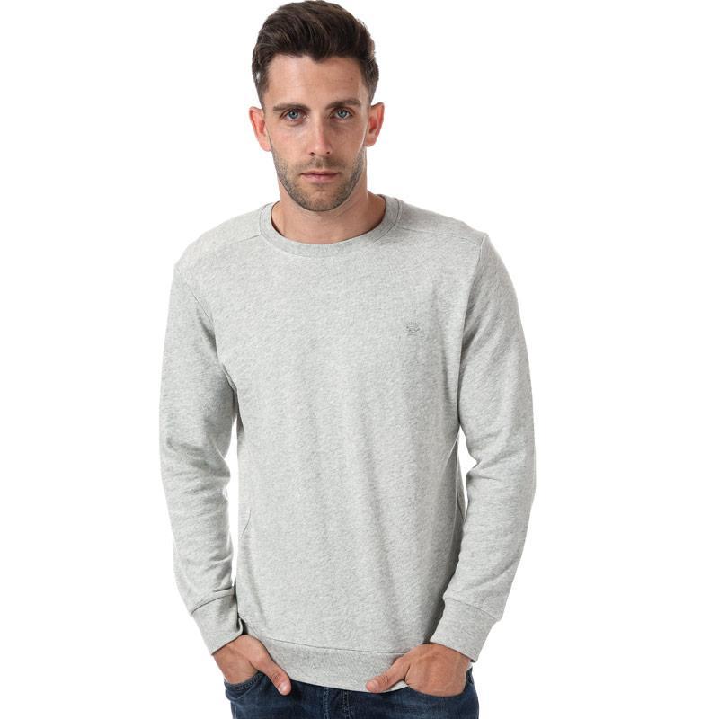 Mikina Diesel Mens S-Dant New Logo Sweat-Shirt Light Grey Velikost - S