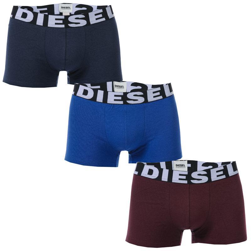 Spodní prádlo Diesel Mens UMBX Shawn 3 Pack Boxer Shorts Multi colour