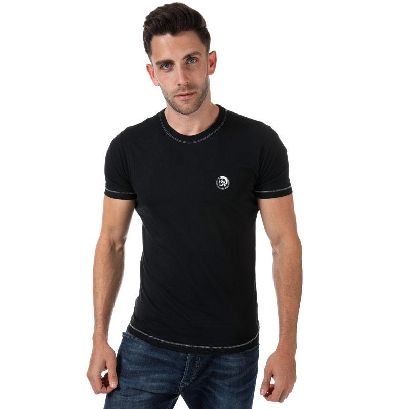Tričko Diesel Mens UMLT Jake T Shirt Black