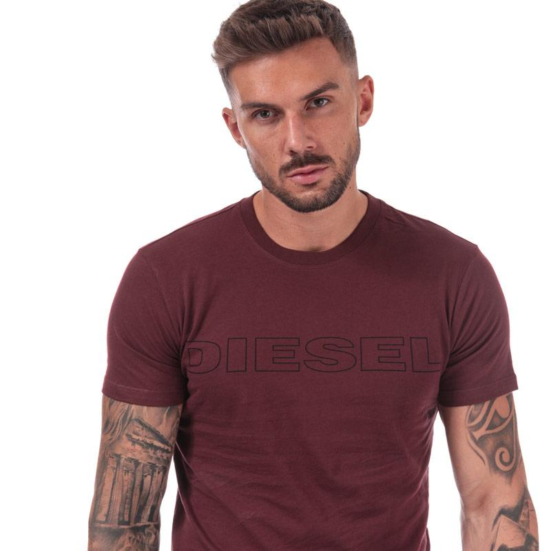 Tričko Diesel Mens UMLT Jake T Shirt Black
