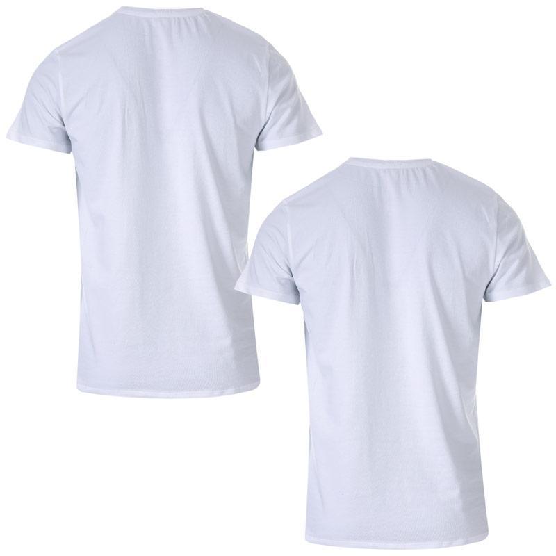 Tričko Diesel Mens Umtee-Randal 2 Pack Crew T-Shirt White