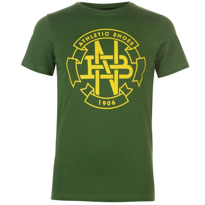 Tričko New Balance G T Shirt Mens Chive