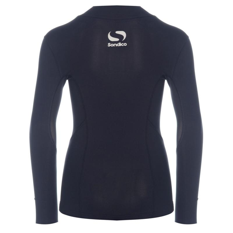 Sondico Mock Neck Baselayer Juniors Navy