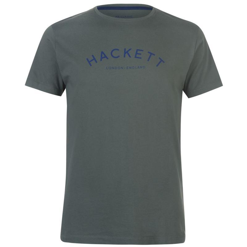 Tričko Hackett Mr Classic T Shirt Olive