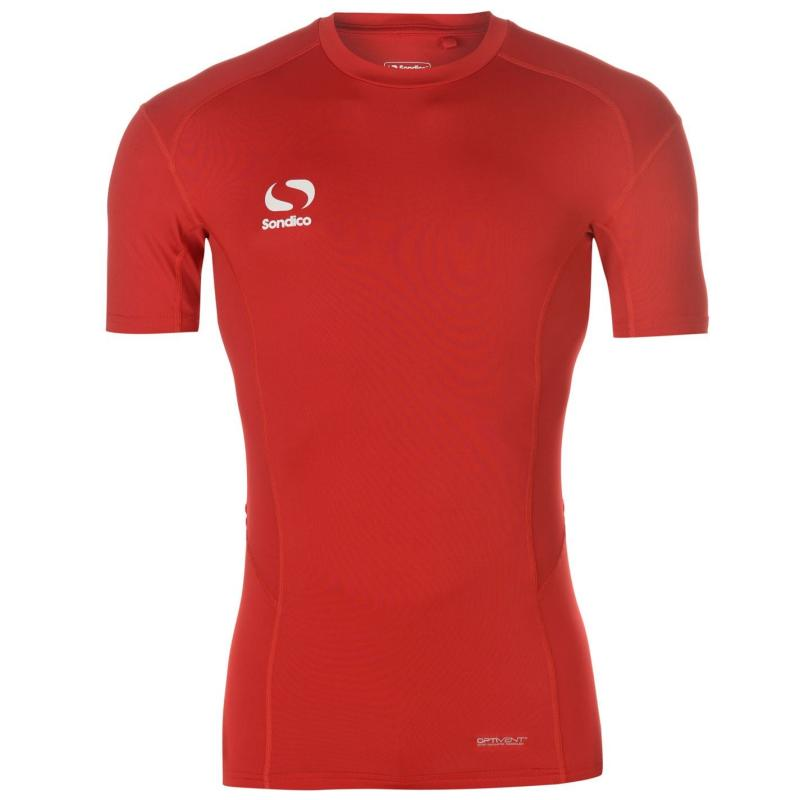 Sondico Core Base Short Sleeves Mens Red