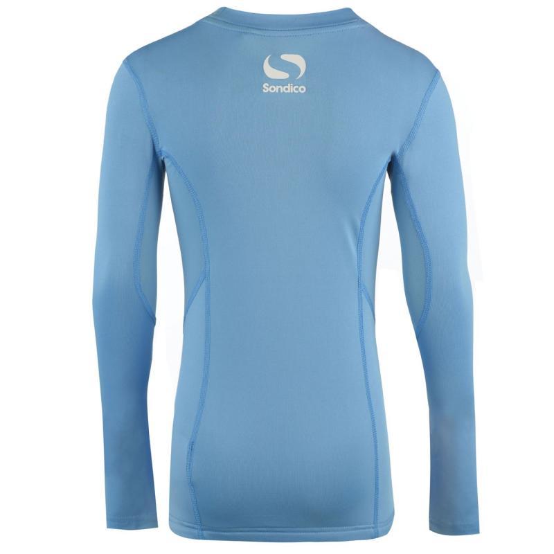 Sondico Long Sleeved Core Base Layer Junior Sky Blue