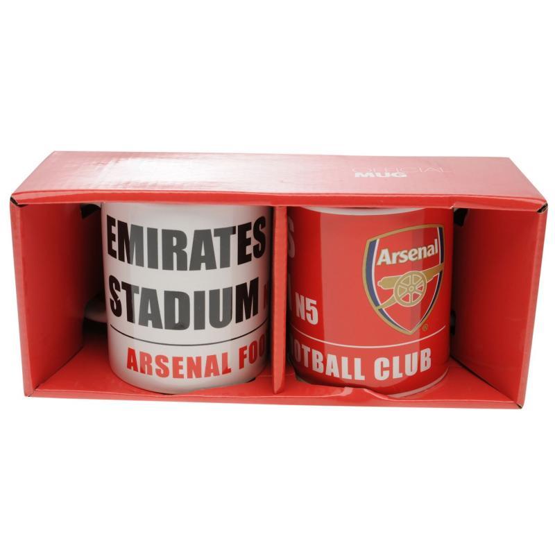 Team Twin Mug Set Arsenal