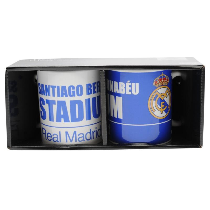 Team Twin Mug Set Real Madrid