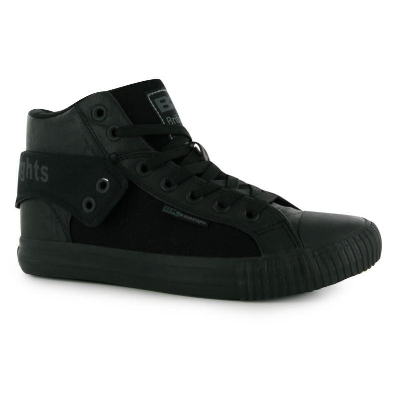 British Knights Roco Fold PU Mens Shoes Black/Black
