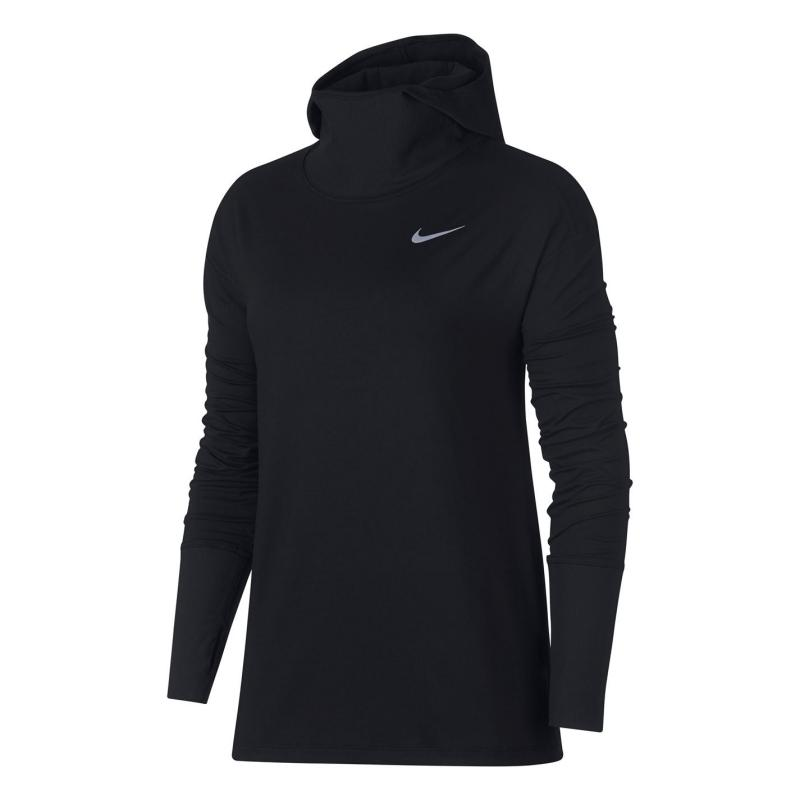Mikina Nike Element Hoody Ladies Black