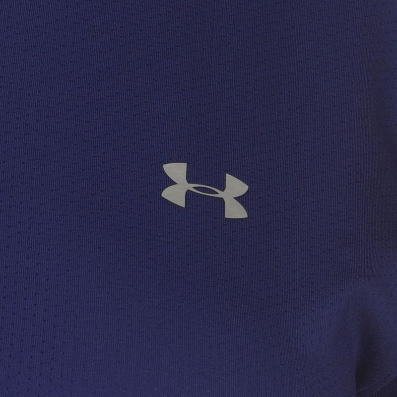 Under Armour HeatGear Armour Training T Shirt Ladies Purple