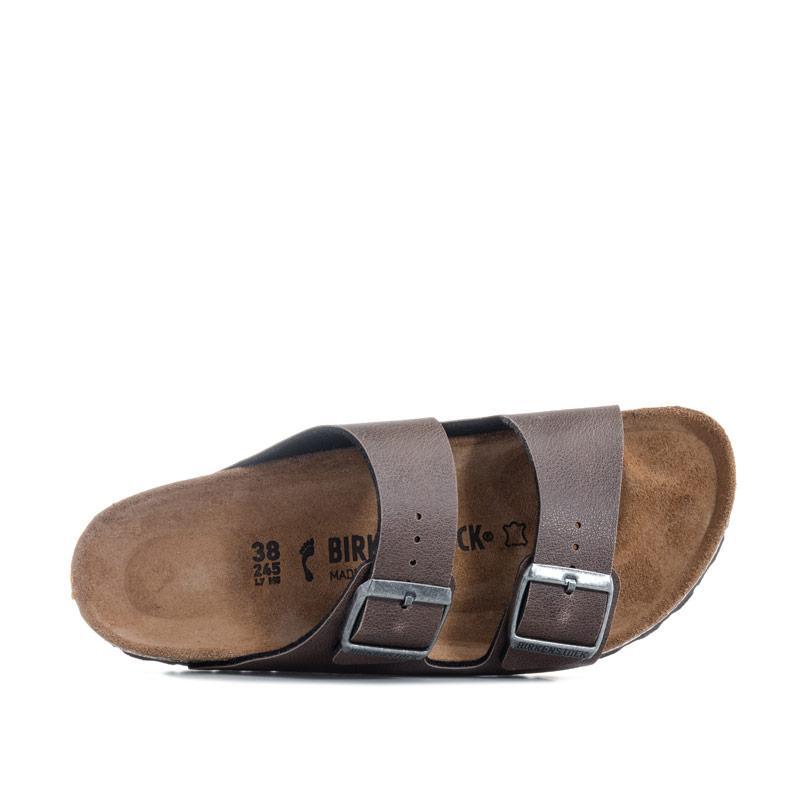 Boty Birkenstock Children Boys Arizona Pull Up Sandals Brown