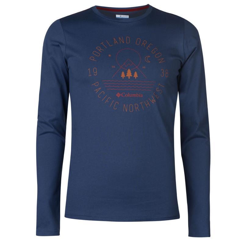 Columbia Creek Sweat T Shirt Mens Grey